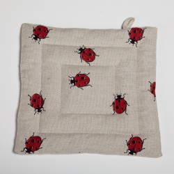 "Pot holder ""Ladybirds"""