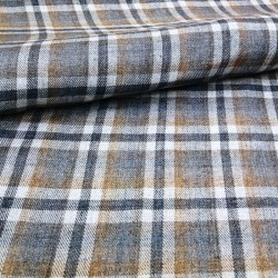100 % washed Linen fabric...