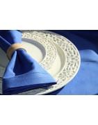 Lino linija | Lininės servetėlės - suteikia lėkštėms puošnumumo