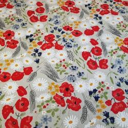 Servetėlių komplektas (6 vnt.) su raudonomis rožytėmis