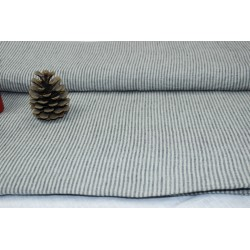 Striped 100 % washed Linen...