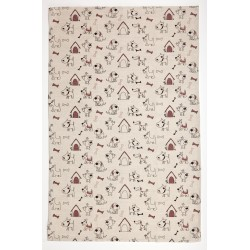 "Kitchen Towel ""Dog's House"""