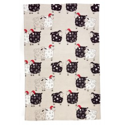 "Kitchen Towel ""Sheeps with..."