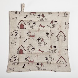 "Pot holder ""Dog's house"""