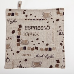 "Pot holder ""Espresso"""