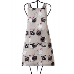 "Apron ""Sheeps with caps"""