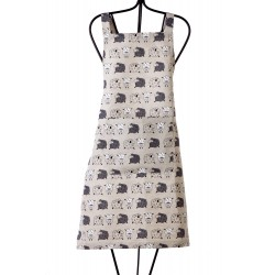 "Apron ""Little sheeps"""